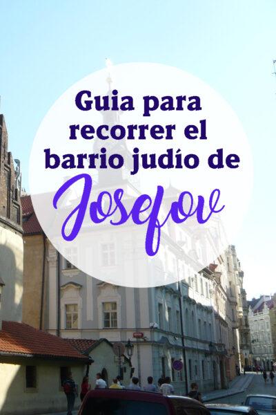 Guía para recorrer el barrio judío de Josefov