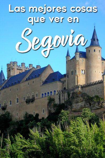 Las mejores cosas que ver en Segovia