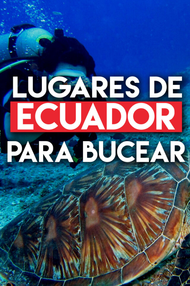 Lugares de Ecuador para Bucear