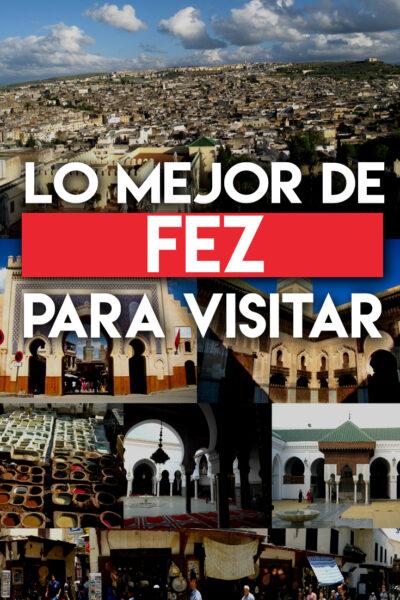 Los mejores lugares para visitar en Fez