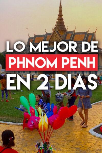 Los mejores lugares para conocer en Phnom Penh en 2 días