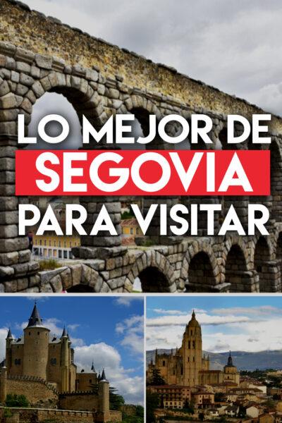 Los mejores lugares para visitar en Segovia