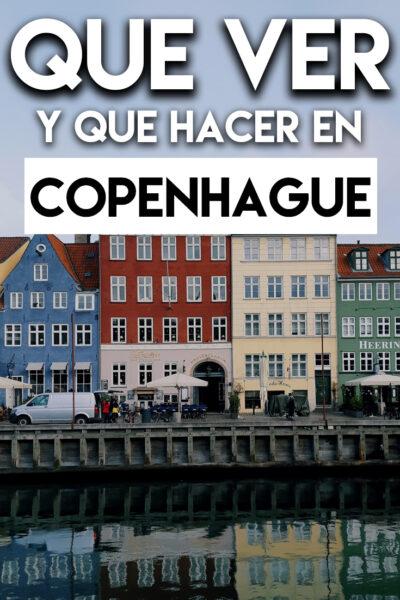 Que ver y que hacer en Copenhague