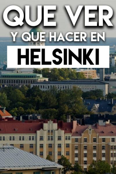Qué ver y Qué hacer en Helsinki