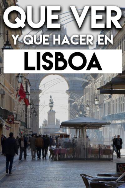 Qué ver y Qué hacer en Lisboa