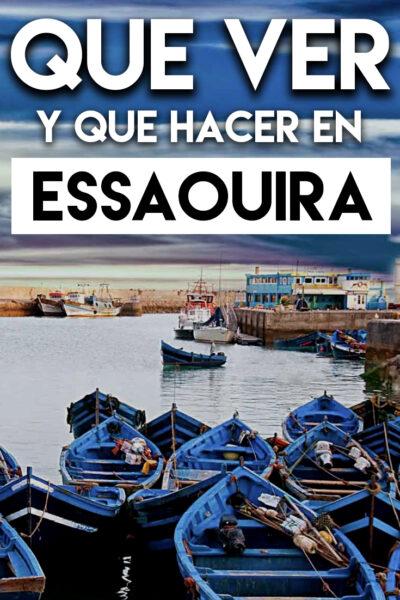 Qué ver y Qué hacer en Essaouira