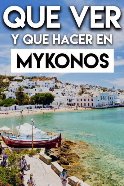 Qué ver y Qué hacer en Mykonos