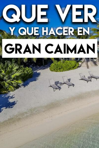 Qué ver y Qué hacer en Gran Caimán