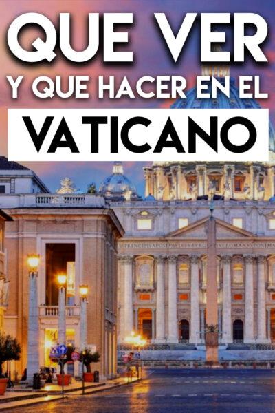 Qué ver y Qué hacer en el Vaticano