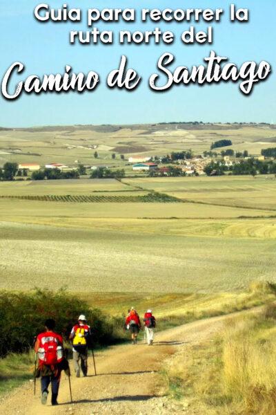 Guia para recorrer la ruta norte del Camino de Santiago