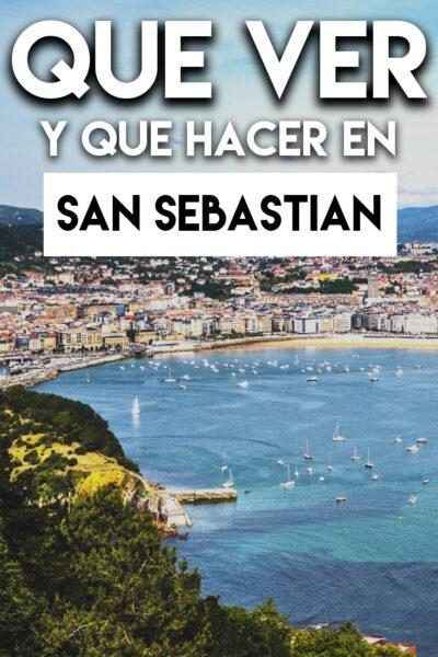Qué ver y Qué hacer en San Sebastian