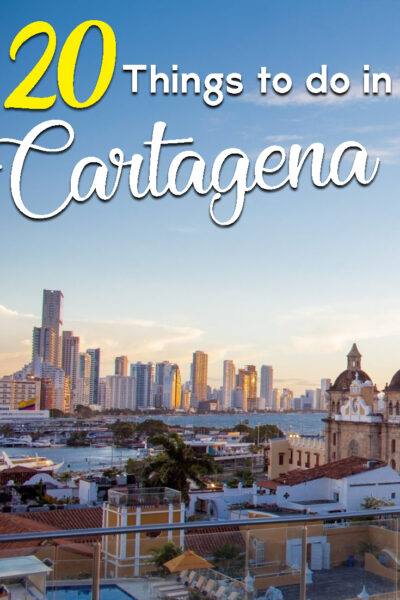 20 best things to do in Cartagena