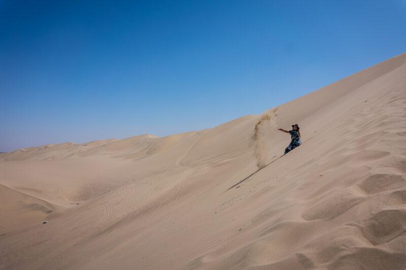 Huacachina, Peru-sand dunes