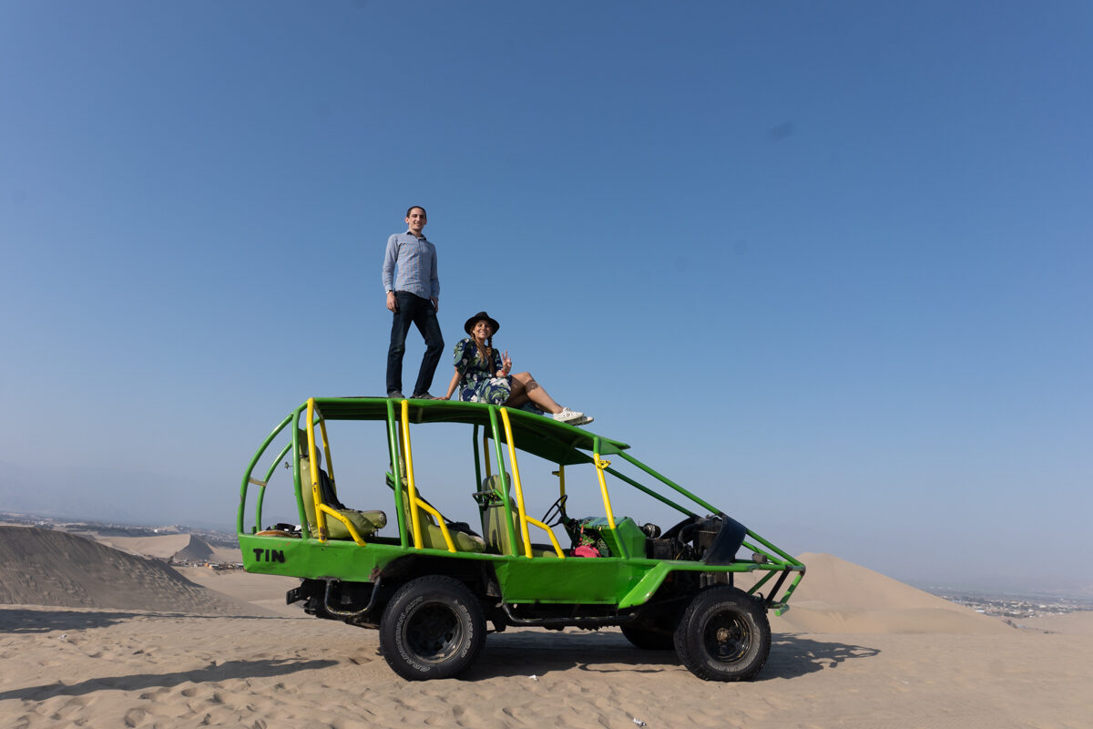 Get an Adrenaline Rush Dune Buggying