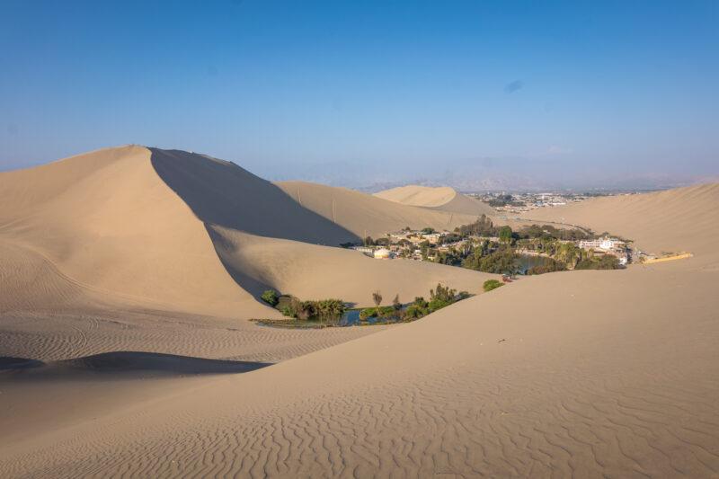 Huancachina, Peru-sand dunes