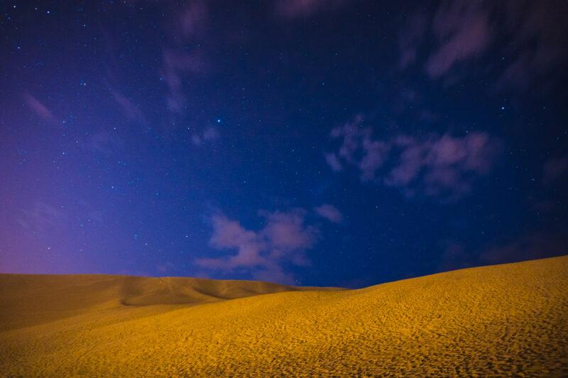 Huacachina, Peru-night photography