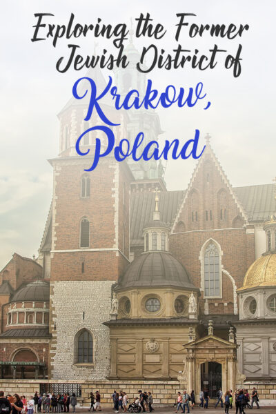 Exploring the former Jewish District of Krakow, Poland