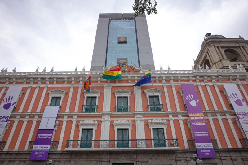 La Paz Bolivia-palacio de gobierno bolivia