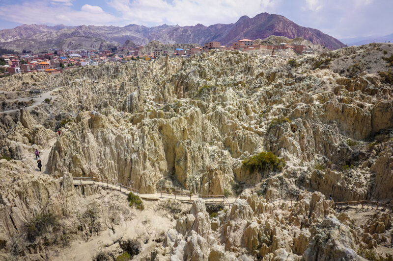 La Paz Bolivia-The Valley of the Moon
