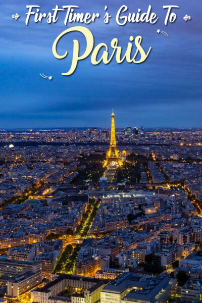 First Timer's Guide to Paris