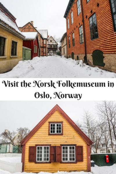 Visit The Norsk Folkemuseum in Oslo, Norway