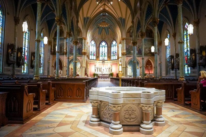 Savannah-The Cathedral of Saint John the Baptist
