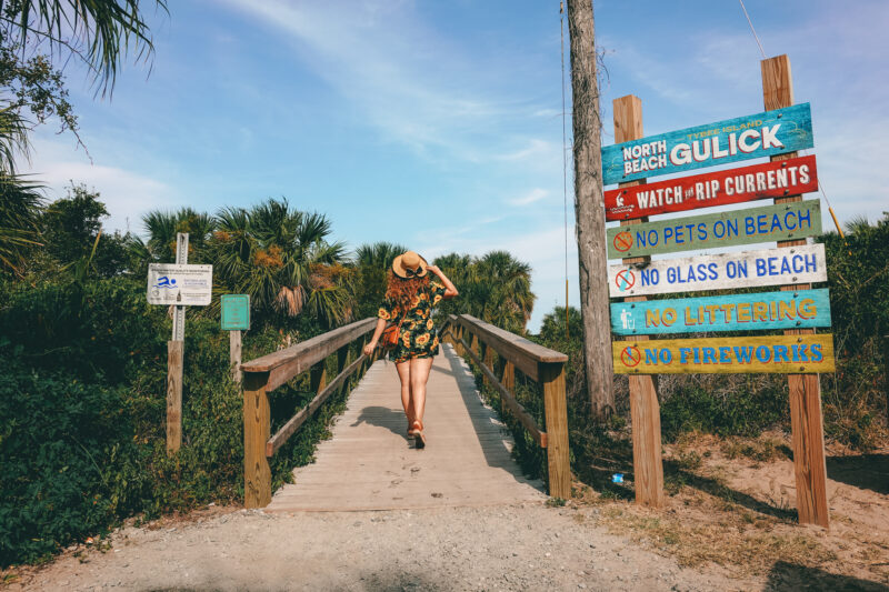 Tybee Island Day One: Spend the day at the Beach