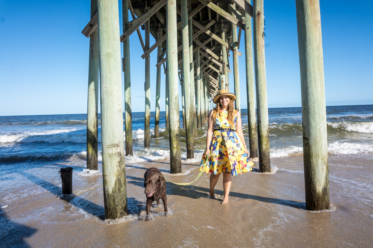 Wilmington NC-Day 2: Spend the day at the beach