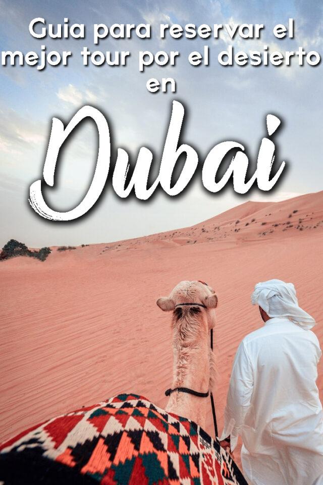 Guía para reservar el mejor tour por el desierto en Dubai