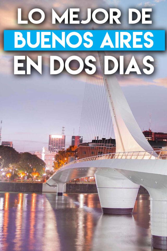 Lo mejor de Buenos Aires en dos días