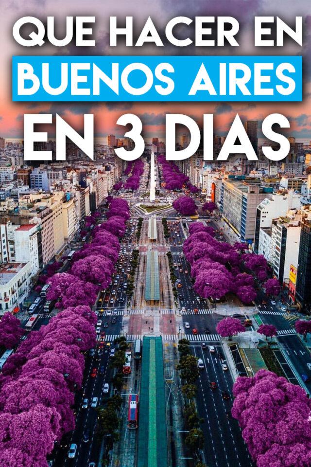 Qué hacer en Buenos Aires en 3 días
