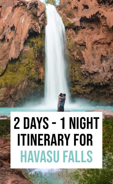 What to do in Havasu Falls for 2 days and one night.
