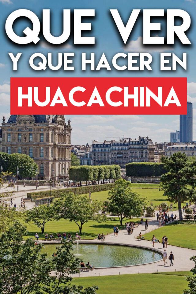 Que ver y qué hacer en Huacachina