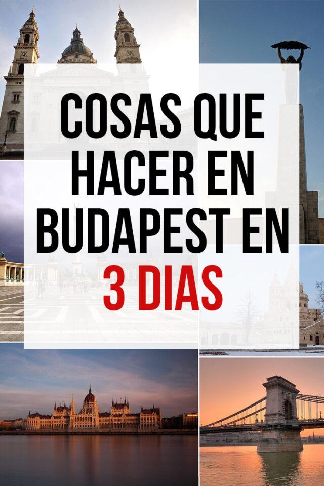 Cosas que hacer en Budapest en 3 Días