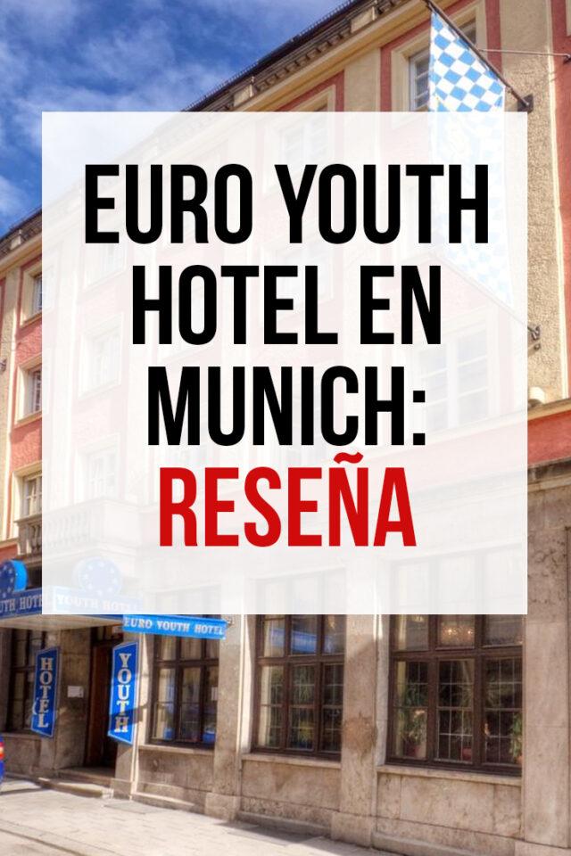 Euro Youth Hotel en Munich: Reseña